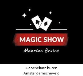 Goochelaar huren Amsterdamscheveld