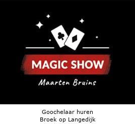 Goochelaar huren Broek op Langedijk