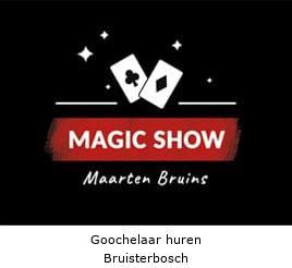 Goochelaar huren Bruisterbosch