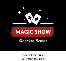 Goochelaar huren Dijkmanshuizen