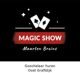 Goochelaar huren Oost Graftdijk