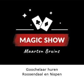 Goochelaar huren Roosendaal en Nispen