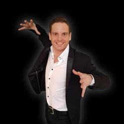 Professioneel goochelaar Maarten Bruins