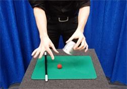 Tafelgoochelaar oftewel rondlopende goochelaar